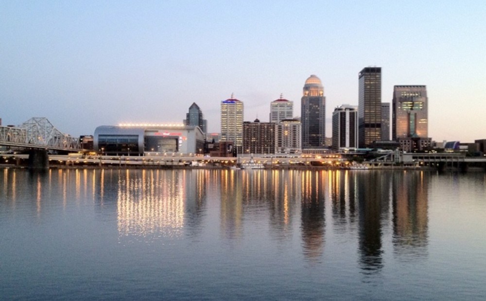 Louisville water front