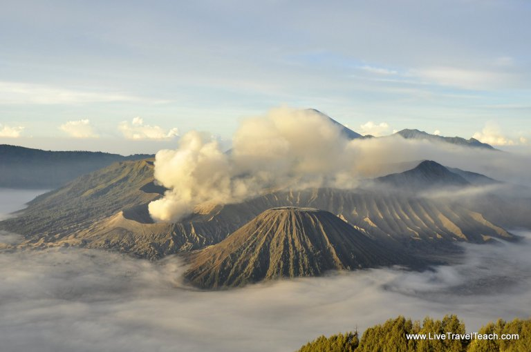 Mount Bromo at Sunrise, Java. Indonesia - Top Destinations to visit in 2017 recommended by #travel bloggers