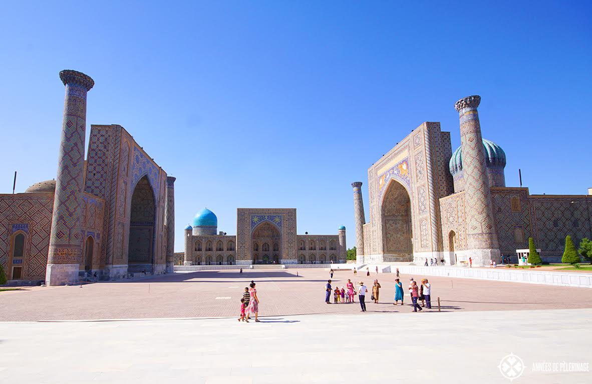 Registan ensemble, Samarkand, Uzbekistan - Top Destinations to visit in 2017 recommended by #travel bloggers