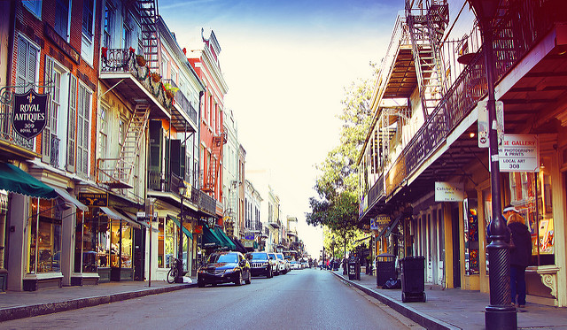 Royal Street, downtown New Orleans