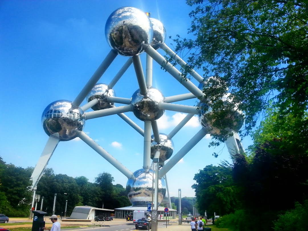 The Atomium in Brussels (photo)