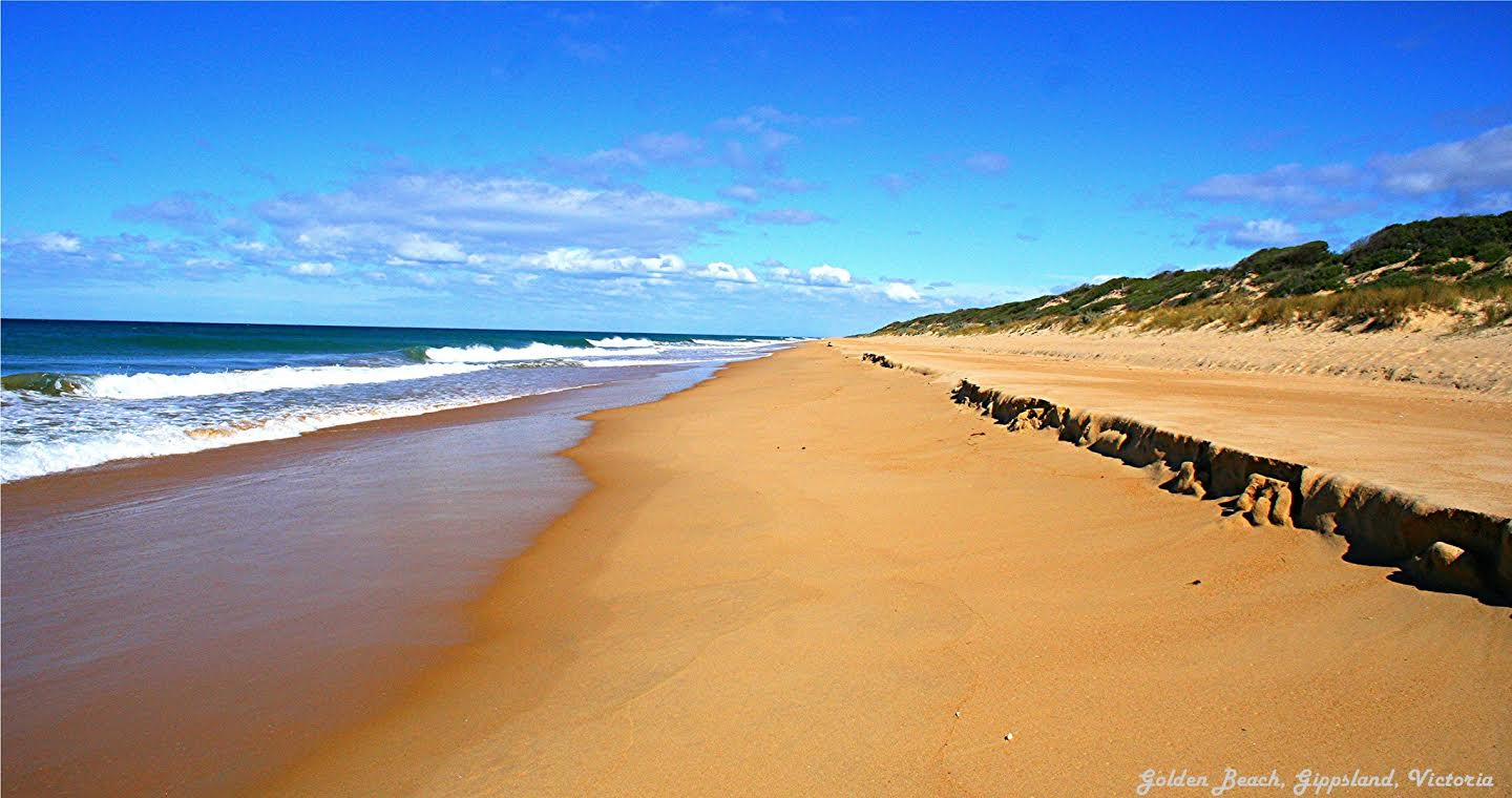 The Golden Beach - Gippsland region of Victoria, Australia - Top Destinations to visit in 2017 recommended by #travel bloggers