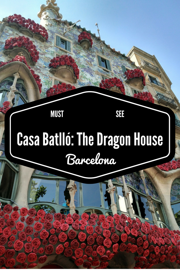 Casa Batlló: The Dragon House - Gaudi's work in Barcelona