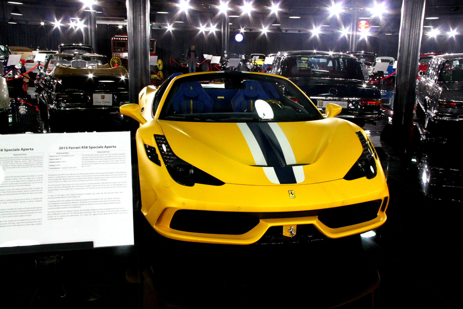 Ferrari 458 - Tiriac Collection