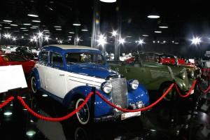 Many Mercedes Benz cars - Tiriac Collection