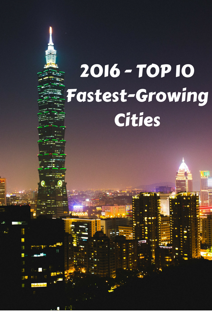 Top 10 Fastest-Growing Destination Cities in 2016