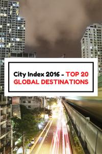 Report: Top International Destination Cities in 2016