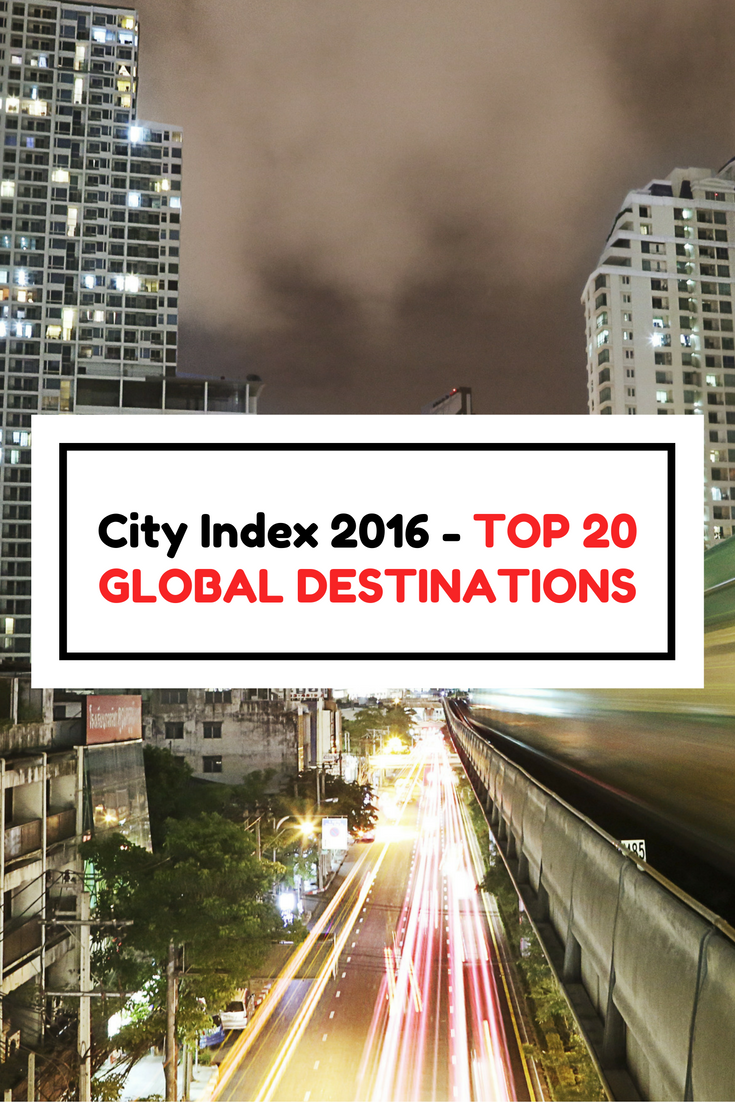 Report: Top International Destination Cities in 2016