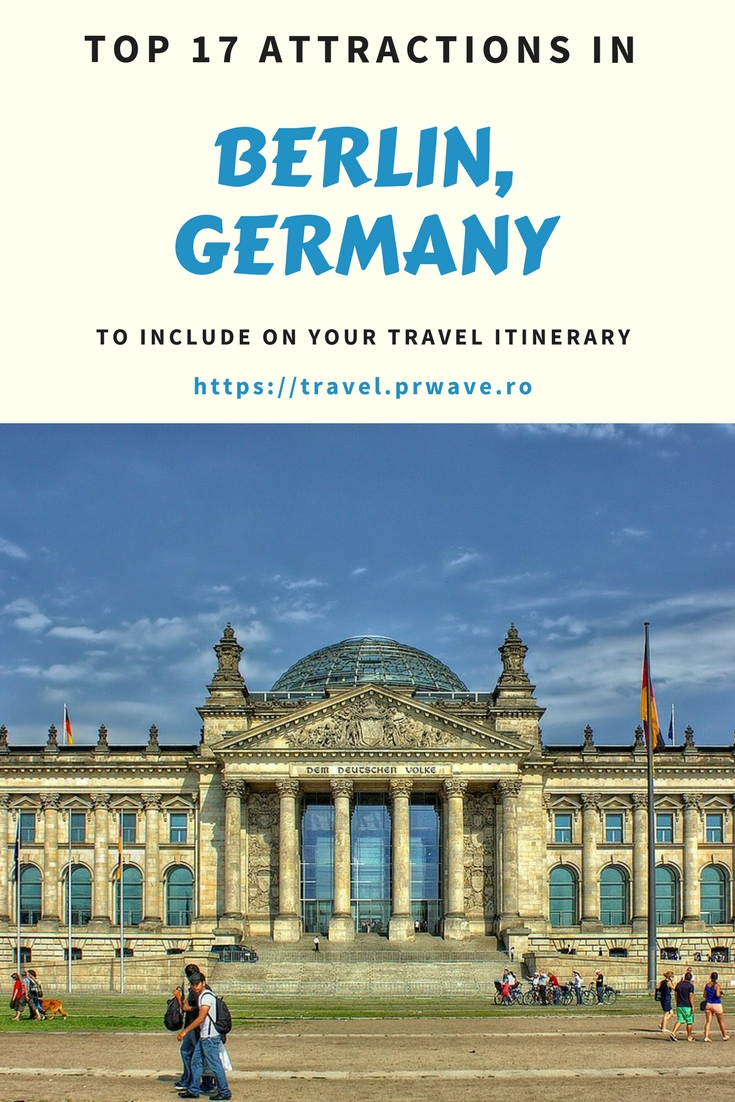 17 top attractions in Berlin, Germany to include on your travel itinerary - discover the best places to see in #Berlin, #Germany on your visit here.