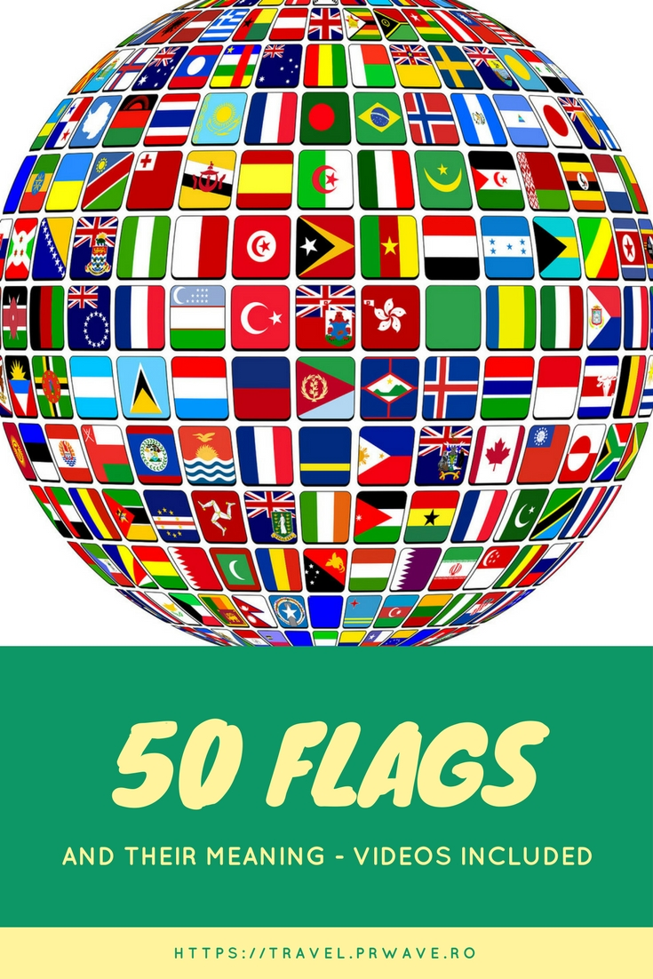 50 flags and their meaning (videos included)