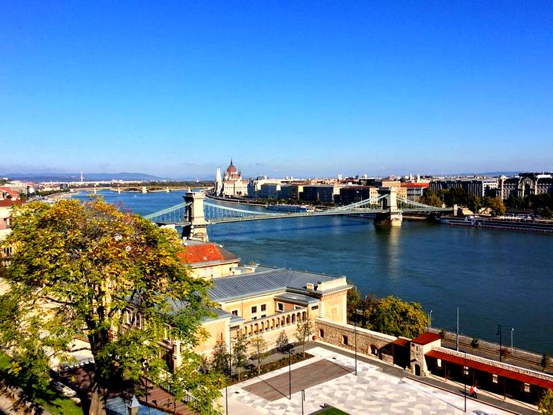 Budapest from the Citadel