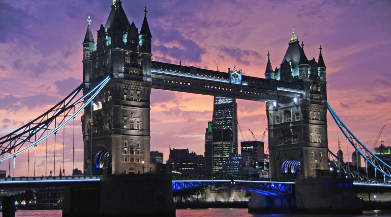 Tower Bridge - London - pixabay