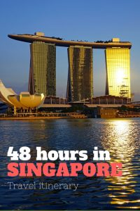Singapore in 48 hours - a travel itinerary from someone who lives there. Make the most of your visit to Singapore!