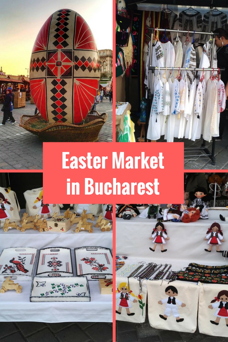 Easter Market in Bucharest, Romania - a nice Easter fair with many traditional products. It is a great stop on your Bucharest trip