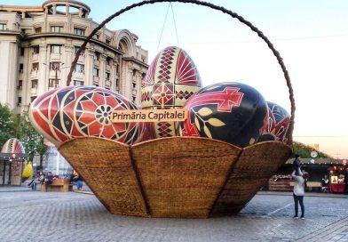 Easter Market in Bucharest, Romania