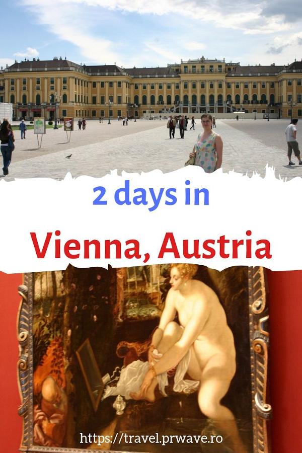 2 days in Vienna, Austria. My travel itinerary for Vienna #vienna #austria