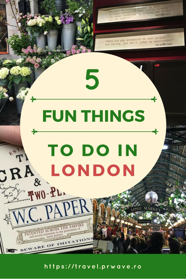 Quirky and Fun Things to Do in London