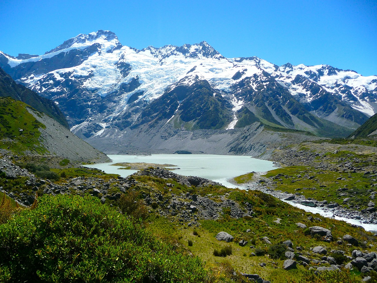 New Zealand - Mount Cook - Pixabay