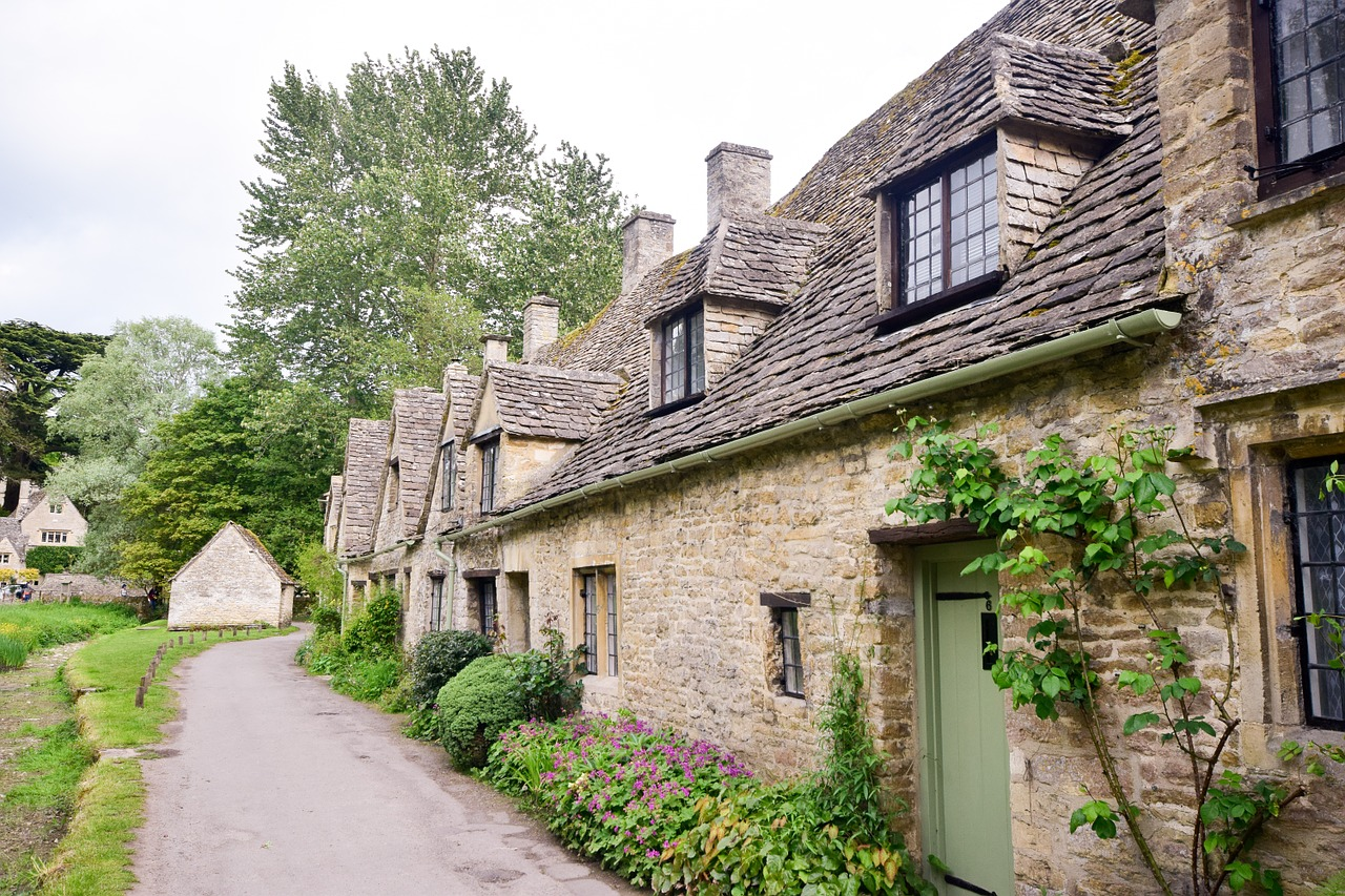 UK village - Cotswolds