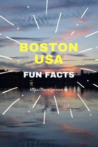 Fun facts about Boston, USA