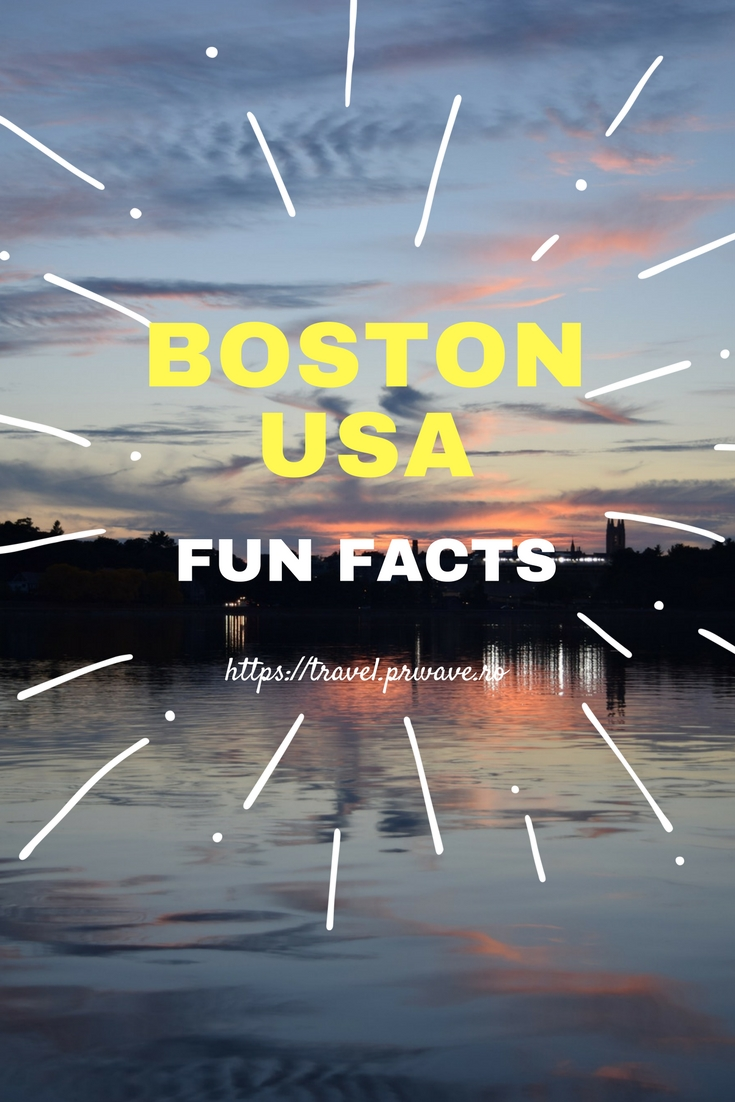 Fun facts about Boston, USA