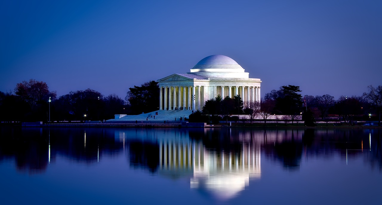 Jefferson Memorial, Washington DC  pixabay