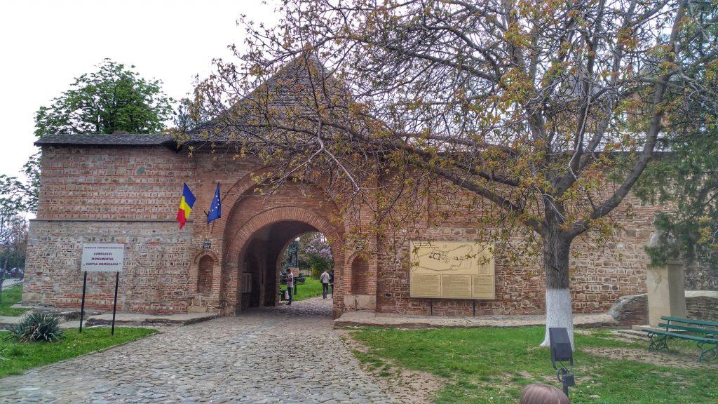 Princely Court in Targoviste - entrance