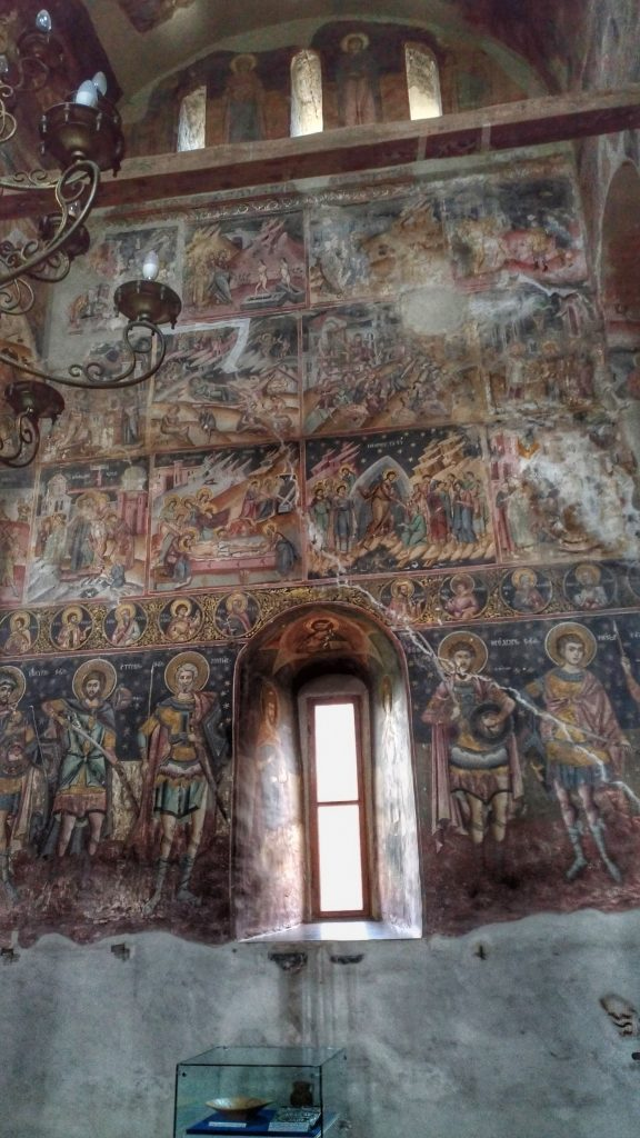 Great Princely Church, Targoviste - interior
