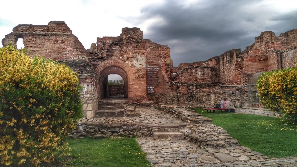 The Princely Court in Targoviste - ruins