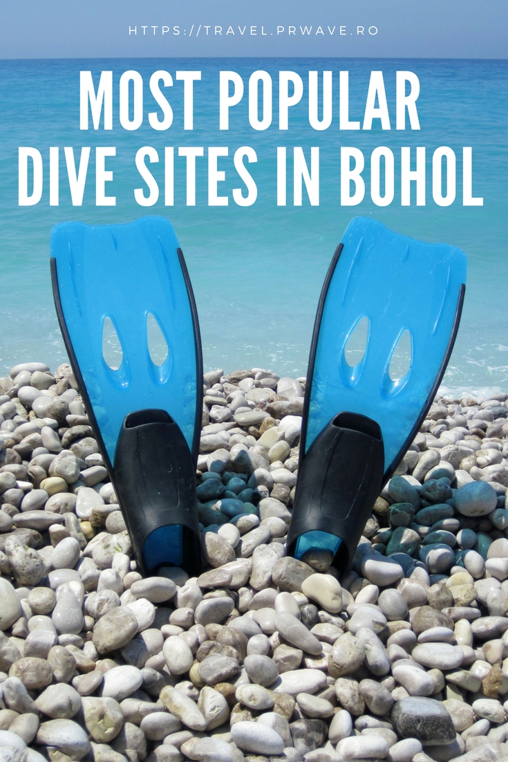 Most popular dive sites in Bohol (the Philippines)