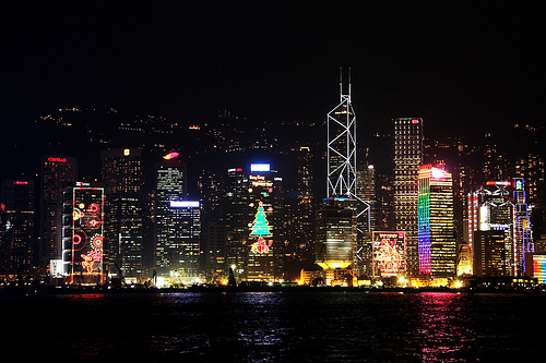 Simphony of Lights, Hong Kong