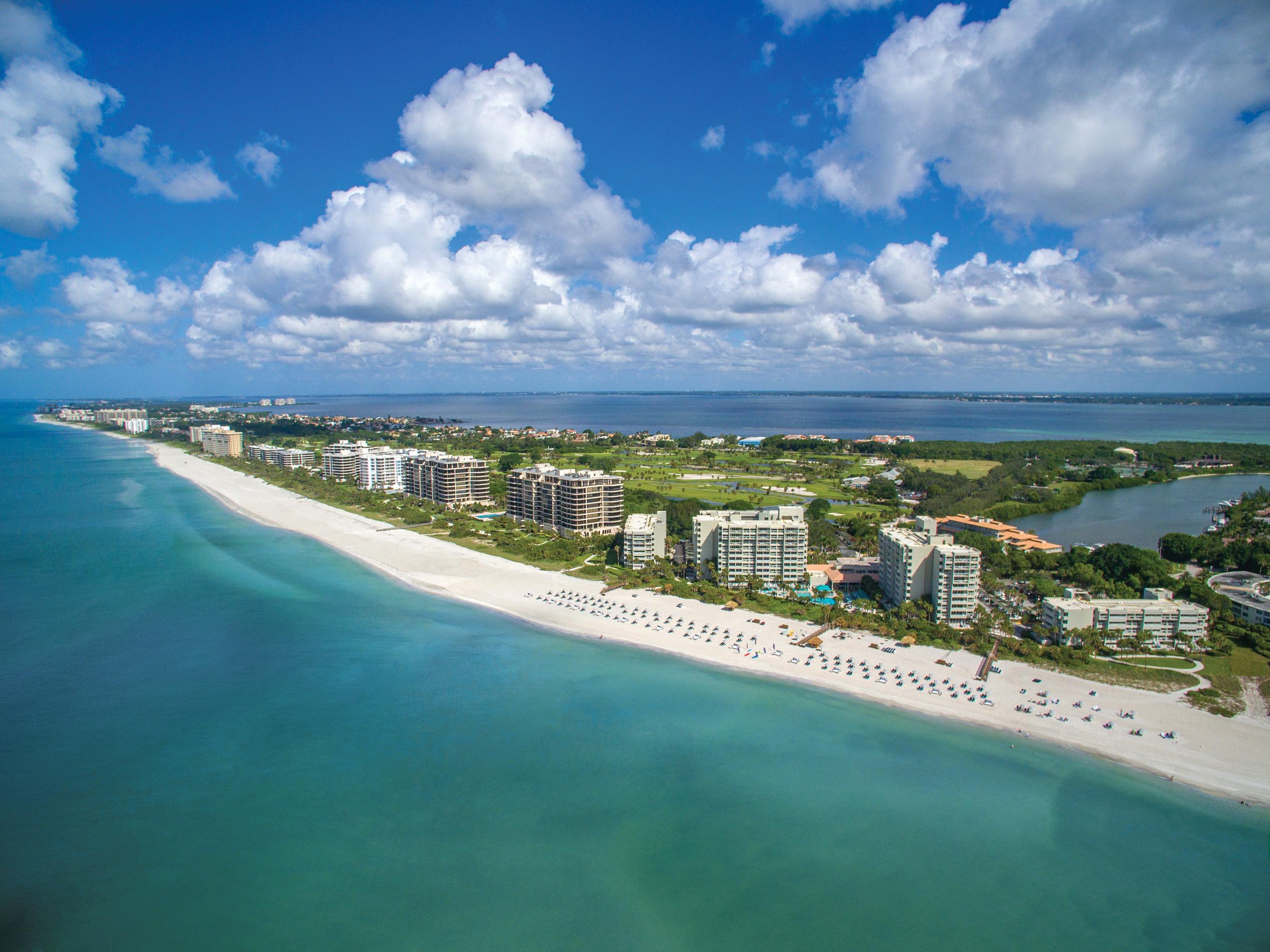 Beautiful Resort - Aerial view