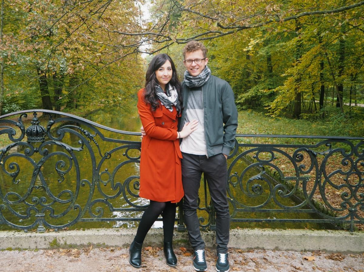 Caroline and Chris