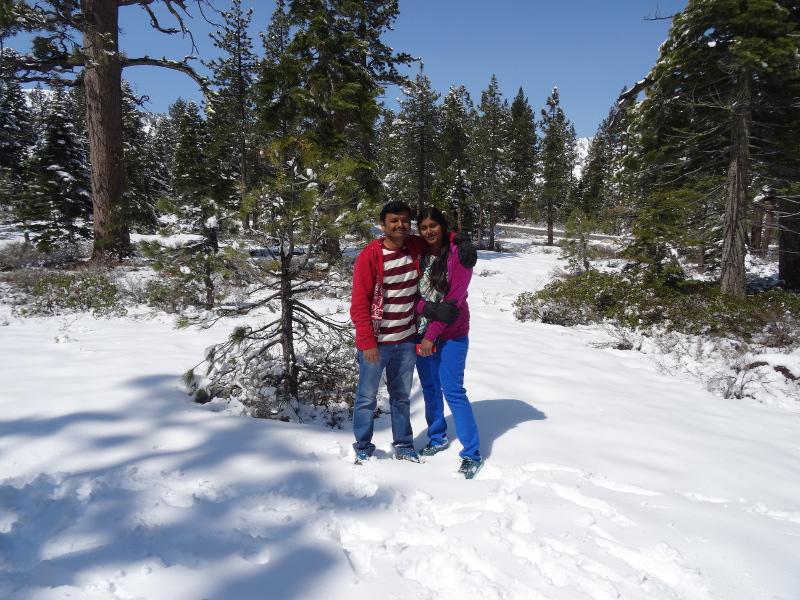 Priya and Ashok