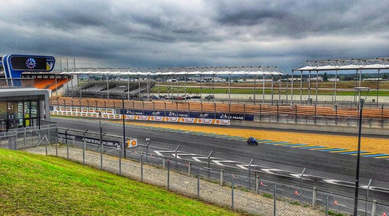 the famous racing circuit in Le Mans, France