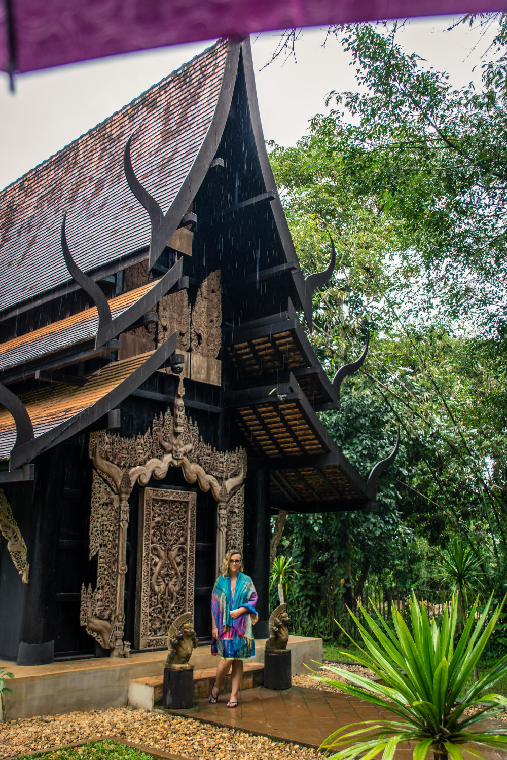 Baan Dam Museum also known as the Black House in Chiang Rai