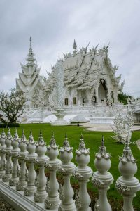 Wat Rong Khun also known as The White Temple in Chiang Rai