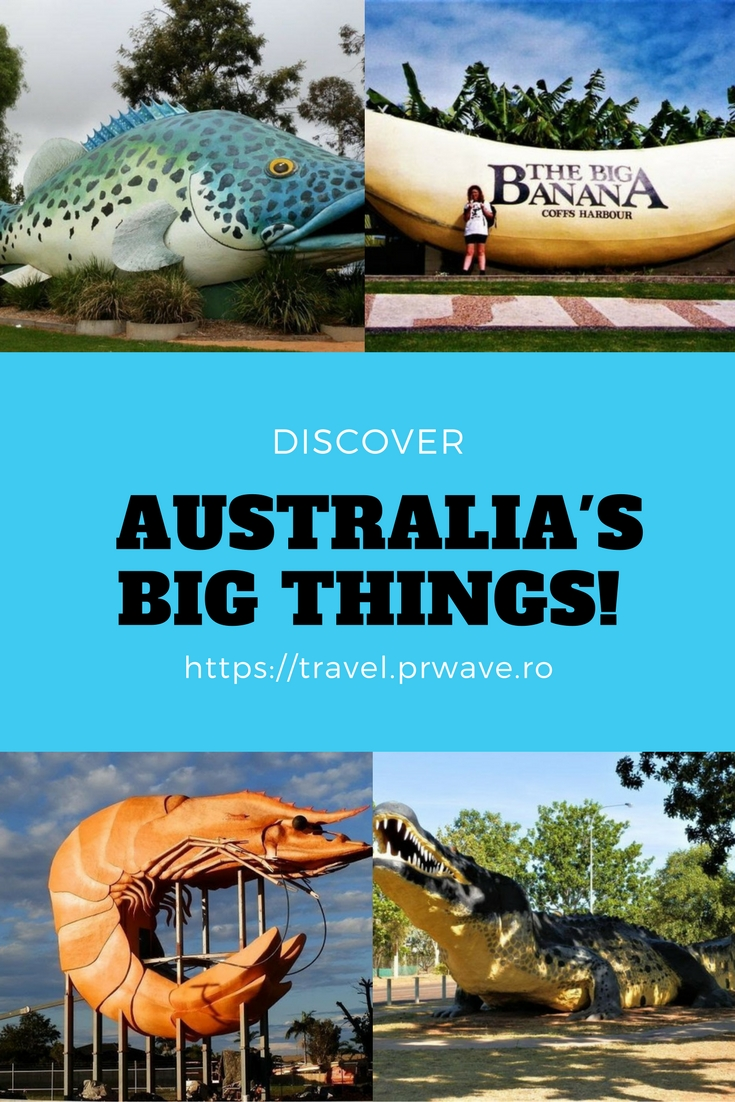 Discover Australia's BIG Things!; Quirky #attractions in #Australia, Australia travel, what to see in Australia, unusual attractions Australia, big monuments Australia