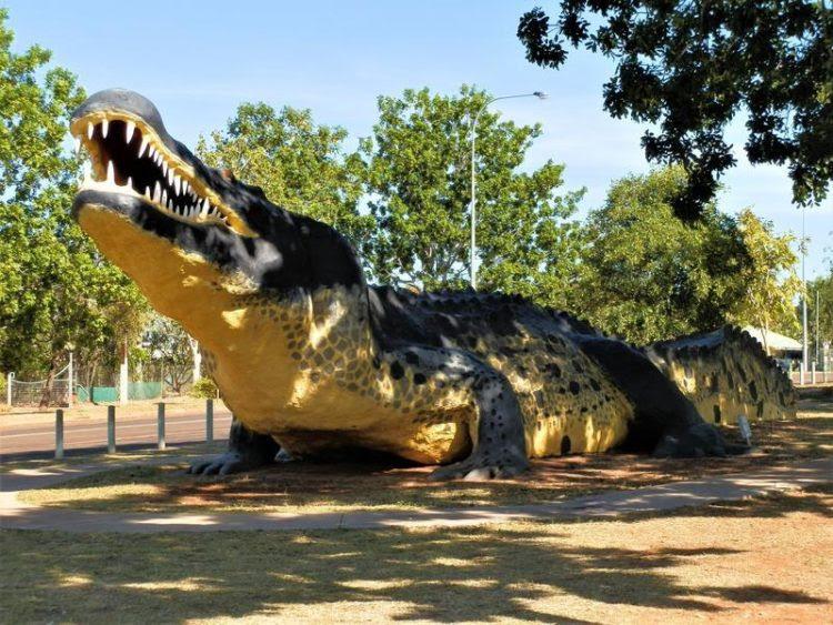 Big Crocodile, Wynham, Western Australia