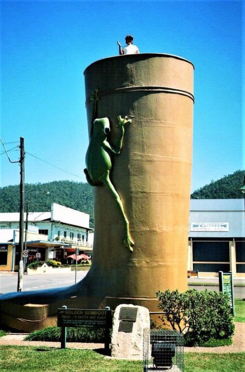 Golden Gumboot, Tully, Queensland, Australia