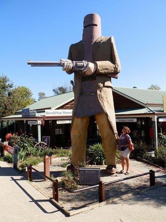 Big Ned Kelly, Glenrowan, Victoria, Australi