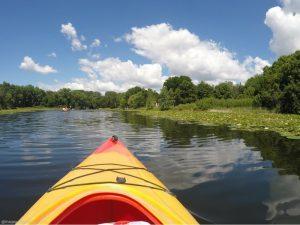 Kayaking Lake Calhoun