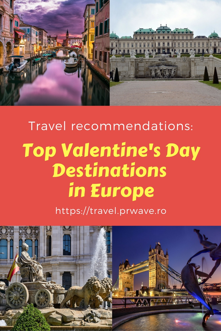 Top Valentine's Day Destinations in Europe, places to go for Valentine's Day, best places to go on Valentine's Day, romantic city breaks, #romantic getaways for #couples in Europe, romantic #destinations in #Europe, #ValentinesDay destinations, Valentine's Day weekend, Best Valentine's Day Destinations in Europe
