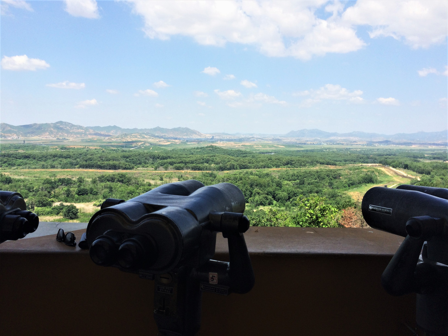Overlooking the North Korean side - DMZ