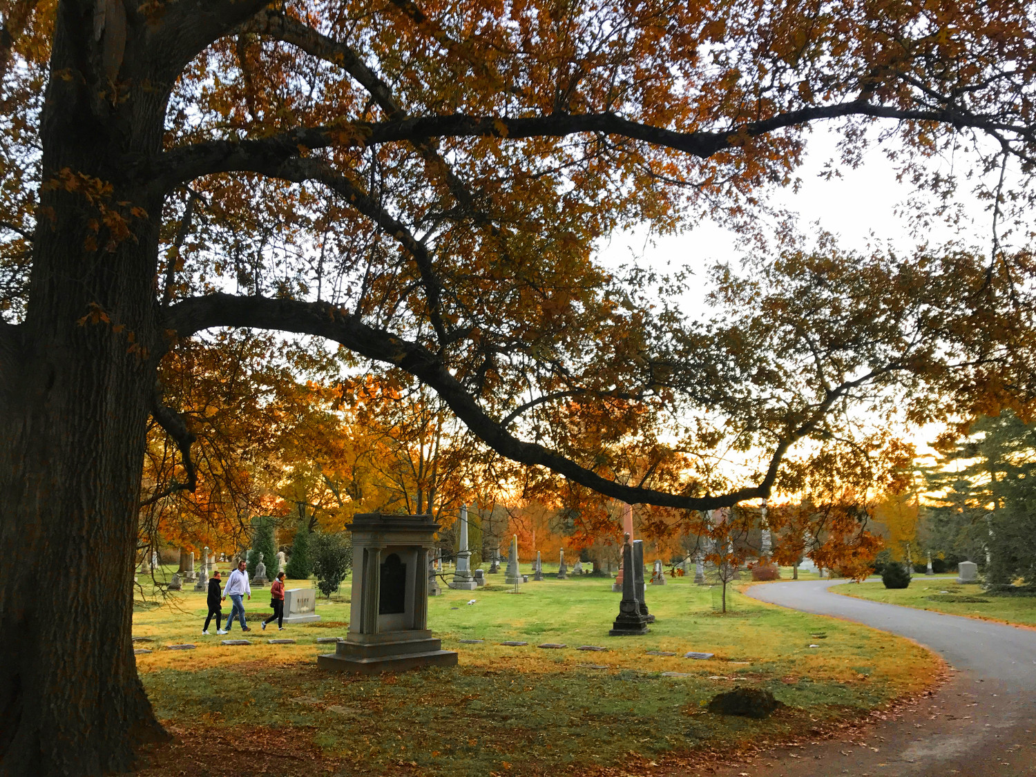 Unique attractions in Cincinnati, Ohio, USA - Spring Grove Cemetery