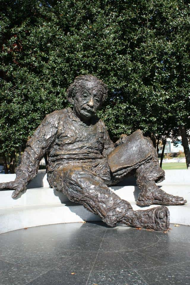 Albert Einstein Memorial - Washington DC