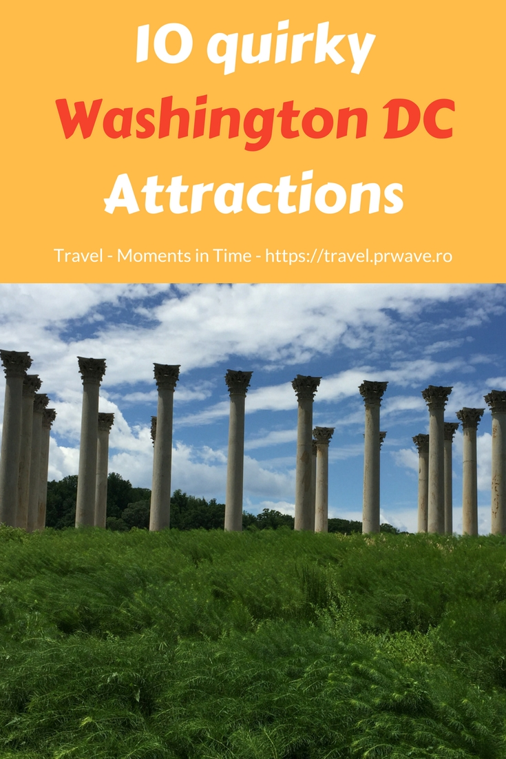 10 Unusual things to do in Washington DC that you cannot miss! #Washington #SUA curioisites, #WashingtonDC