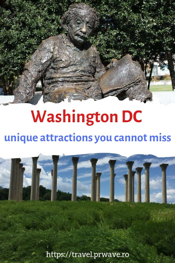 Washington DC unique things to do. Discover Washington DC off the beaten path #washingtondc #usa