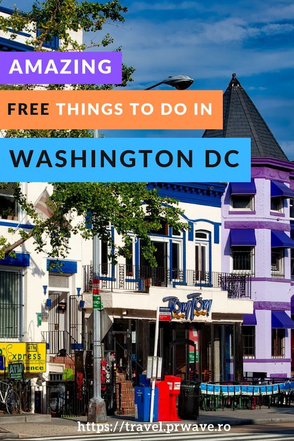 Free things to do in Washington DC that you have to include on your Washington DC itinerary! #washingtondc #travel #usa