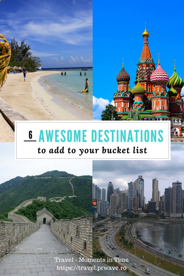 Bucket list ideas: 6 Awesome Holiday Destinations to Add to Your Bucket List